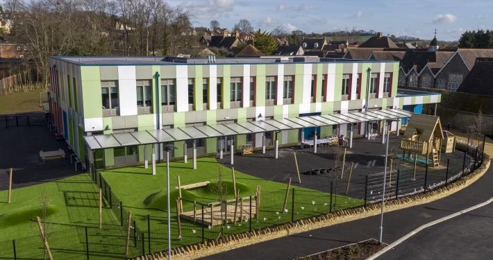 Exterior image of Wincanton Primary School