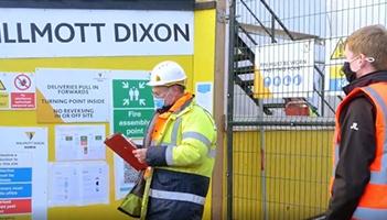 Willmott Dixon site visit